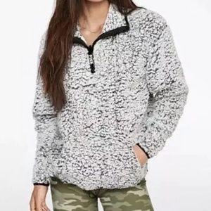 Victoria's Secret Pink Sherpa Sweater